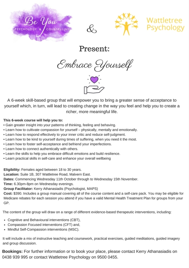 Embrace Yourself Poster